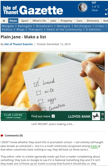 Plain Jane 121214